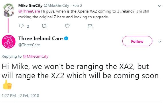 01 - Оператор раскрыл намерение Sony выпустить преемника Xperia XZ1