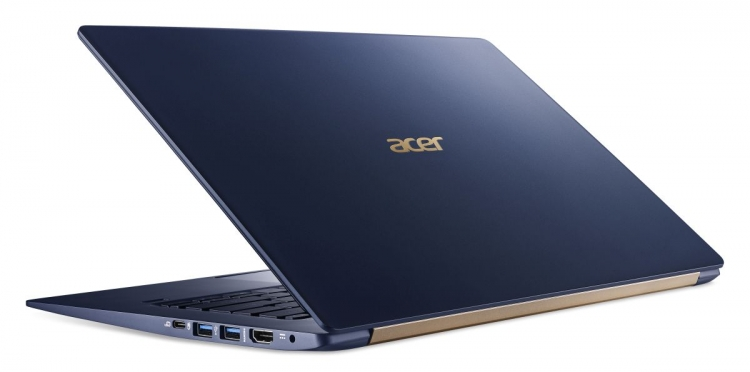 В России начались продажи ультратонкого ноутбука Acer Swift 5