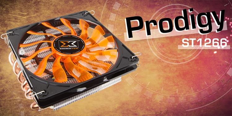 xi1 - CPU-кулер Xigmatek Prodigy ST1266 имеет низкопрофильное исполнение