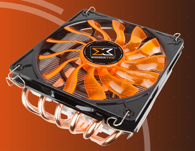 xi4 - CPU-кулер Xigmatek Prodigy ST1266 имеет низкопрофильное исполнение