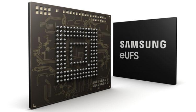 """Samsung начала выпуск «автомобильных» UFS-накопителей объёмом 256 Гбайт"""""""