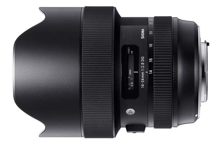"""Объектив Sigma 14-24mm F2.8 Art рассчитан на камеры высокого разрешения"""""""