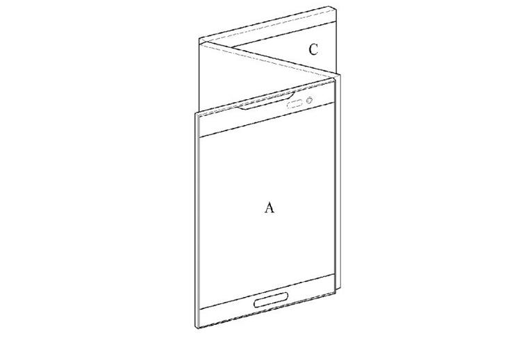 LG размышляет над складным смартфоном с тремя дисплеями