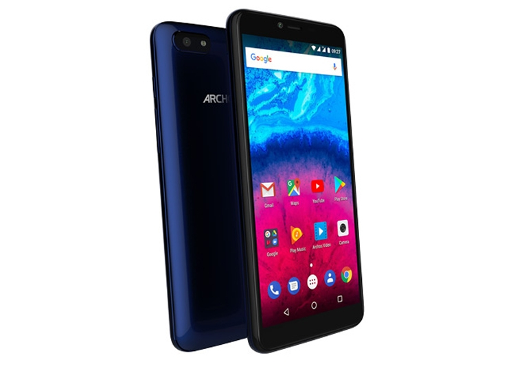 arc2 - Смартфоны Archos Core 55S, 57S и 60S получили экран с соотношением сторон 18:9