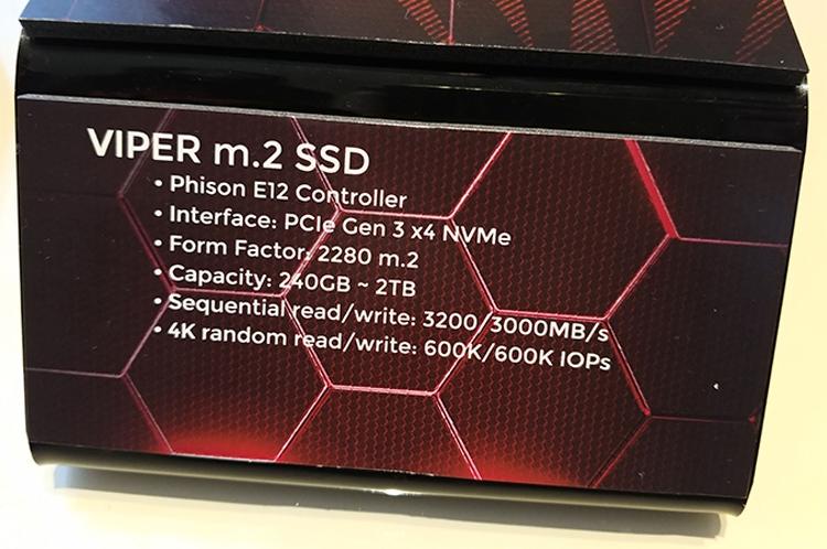 pat1 - Patriot выпустит новые SSD-накопители Viper M.2 ёмкостью до 2 Тбайт