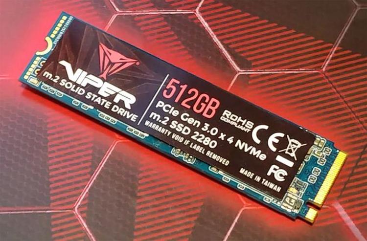 pat2 - Patriot выпустит новые SSD-накопители Viper M.2 ёмкостью до 2 Тбайт