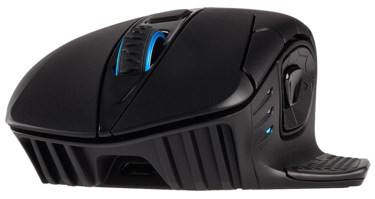 """Мышь Corsair Dark Core RGB SE поддерживает беспроводную зарядку Qi"""""""
