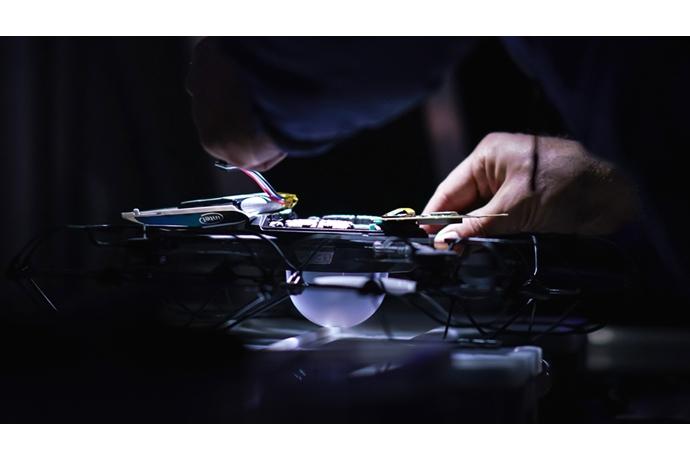 "Intel устроила шоу с 1218 дронами на Олимпийских играх в Южной Корее"""