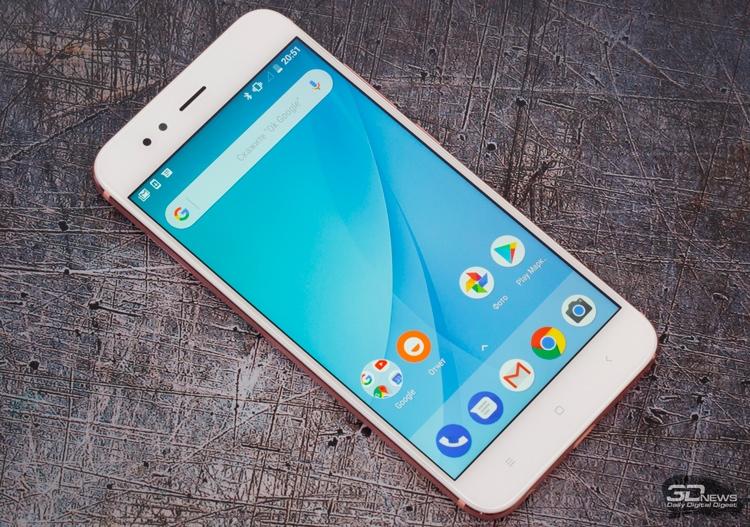 Mi A1 — первый и пока единственный смартфон Xiaomi, выпущенный в рамках программы Android One
