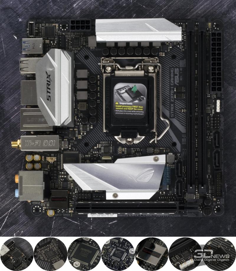 Контроллеры ASUS ROG STRIX Z370-I GAMING