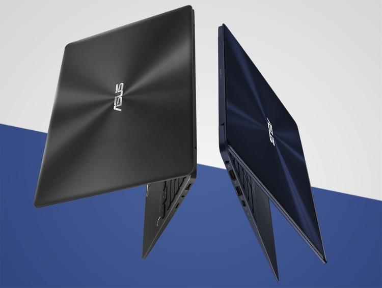 """Ноутбук ASUS Zenbook 13 получил чип Intel Kaby Lake-R и ускоритель NVIDIA"""""""