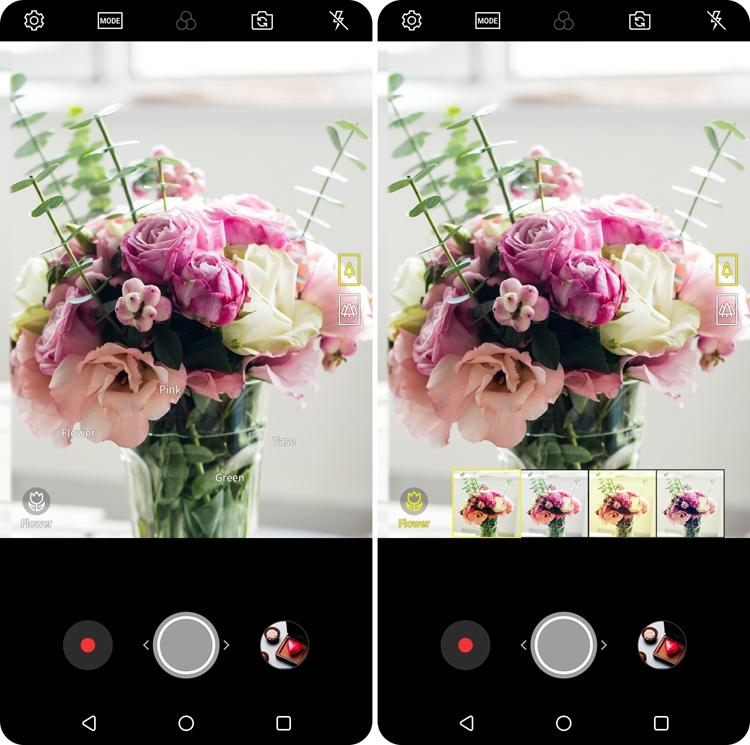 LGV30 (2018) получил «умную» камеру