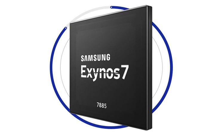 exy1 - Процессор Samsung Exynos 7885 рассчитан на LTE-смартфоны среднего уровня