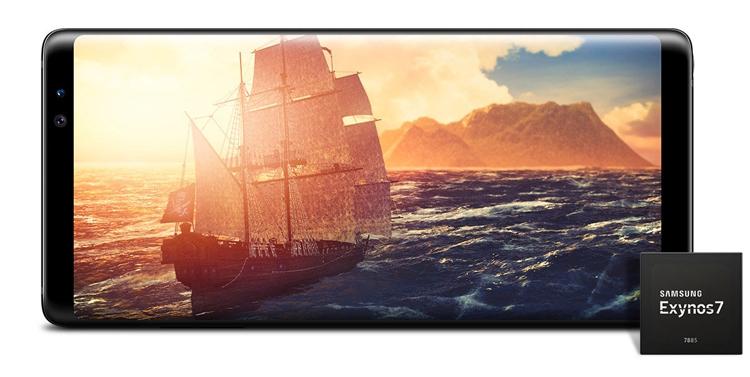 exy2 - Процессор Samsung Exynos 7885 рассчитан на LTE-смартфоны среднего уровня