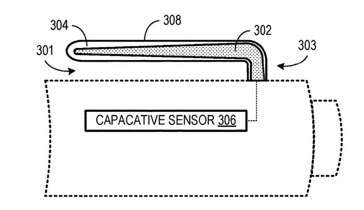 """В Microsoft придумали электронное перо с сенсорным зажимом"""""""