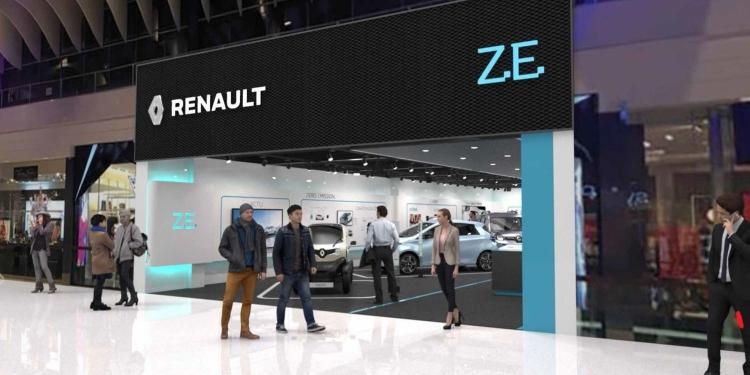 """Renault откроет специализированный магазин для продажи электромобилей"""""""