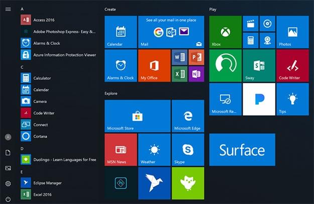 """Microsoft добавила режим максимальной производительности в Windows 10 Redstone 5"""""""