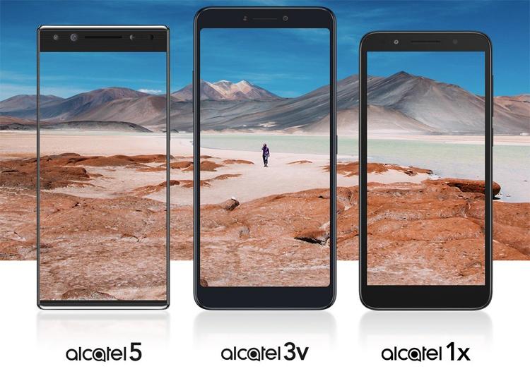 "Презентация смартфонов Alcatel 5, Alcatel 3V и Alcatel 1X состоится 24 февраля"""