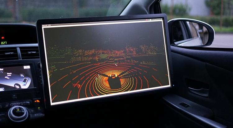 "Видео дня: робомобиль «Яндекса» на дорогах Москвы"""