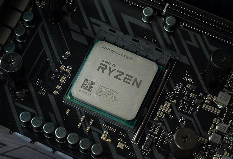 APU семейства Raven Ridge — 4-ядерный/8-поточный процессор Ryzen 5 2400G
