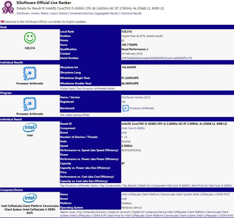 """Замечен первый мобильный 10-нм 4-ядерный процессор Intel Cannon Lake"""""""