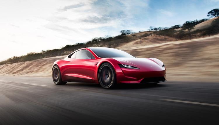 """Суперкар Tesla Roadster нового поколения замечен на испытаниях"""""""
