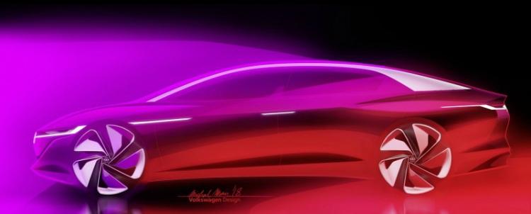 """Volkswagen I.D. Vizzion: электрический концепт-кар с внушительным запасом хода"""""""