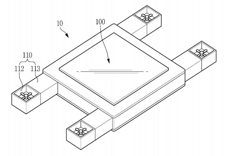 В Samsung изобрели гибрид беспилотника и планшета