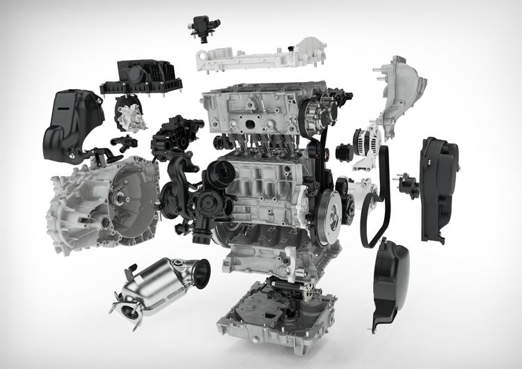 """Volvo представила свой первый трёхцилиндровый двигатель"""""""