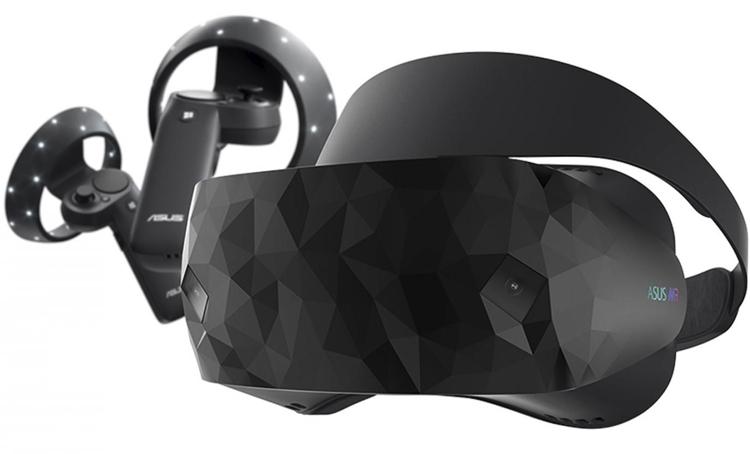 Шлем ASUS Windows Mixed Reality Headset HC102 начал реализовываться поцене $430