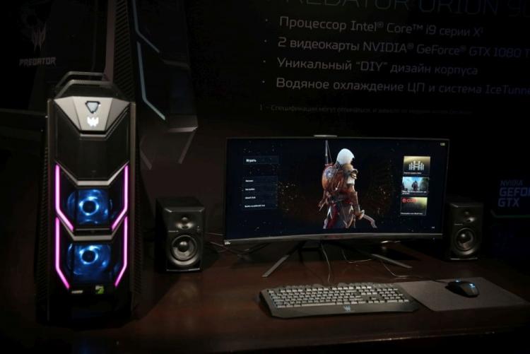 Сверхмощный игровой компьютер Acer Predator Orion 9000 уже в России