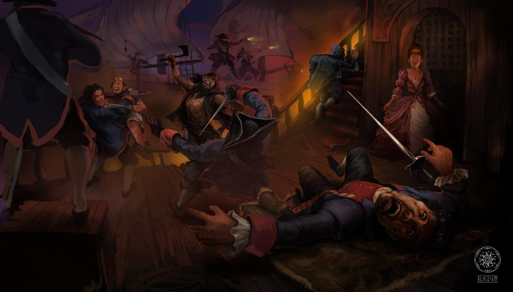 Анонсирована игра «Корсары 4: темная метка». Детали, приблизительная дата выхода