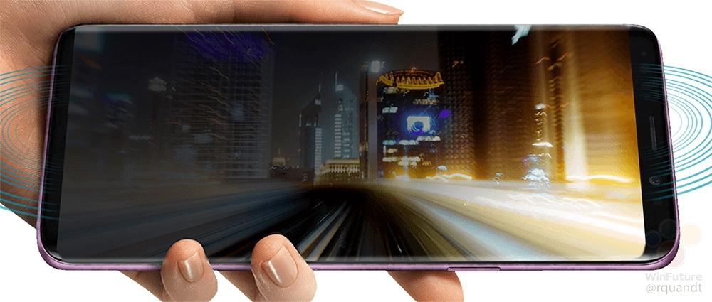 """Стали известны все характеристики и внешний вид Samsung Galaxy S9 и S9 Plus"""""""