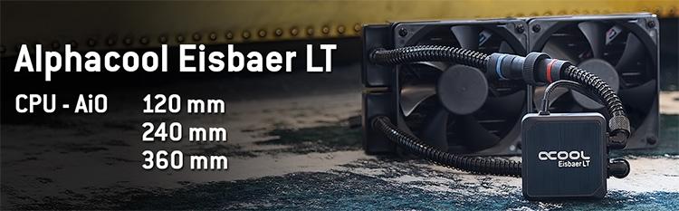 Alphacool Eisbaer LT: СЖО с медным радиатором — в массы!