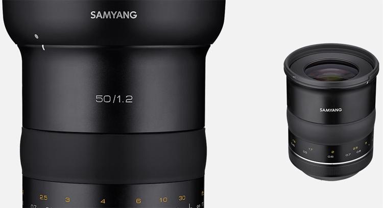 """Объектив Samyang XP 50mm F1.2 рассчитан на полнокадровые DSLR-камеры Canon"""""""