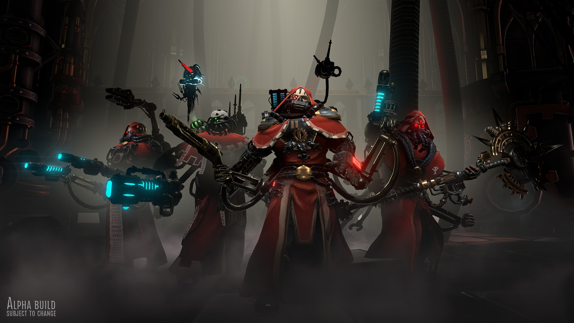 Анонсировали Warhammer 40K: Mechanicus— новейшую тактику повселенной Warhammer 40K