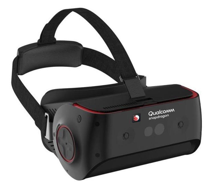 Qualcomm представила эталонный VR-шлем на платформе Snapdragon 845