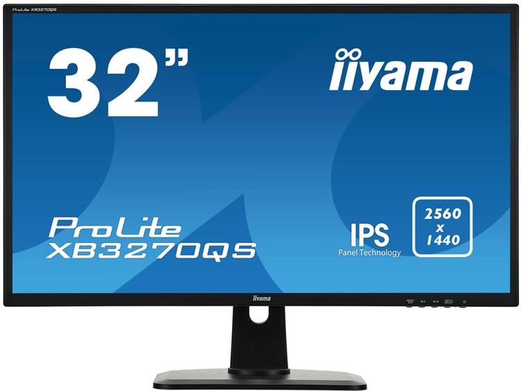 """Монитор Iiyama ProLite XB3270QS обладает разрешением WQHD"""""""