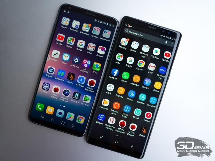 Продажи смартфонов впервые сократились