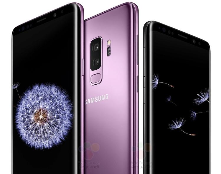 """Смартфоны Samsung Galaxy S9 появятся в магазинах по всему миру в середине марта"""""""
