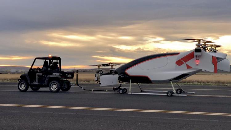 """Airbus опубликовала видео с испытаний беспилотного воздушного такси"""""""
