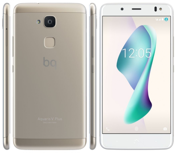 "BQ представила смартфоны Aquaris VS и Aquaris VS Plus на базе Snapdragon 430"""
