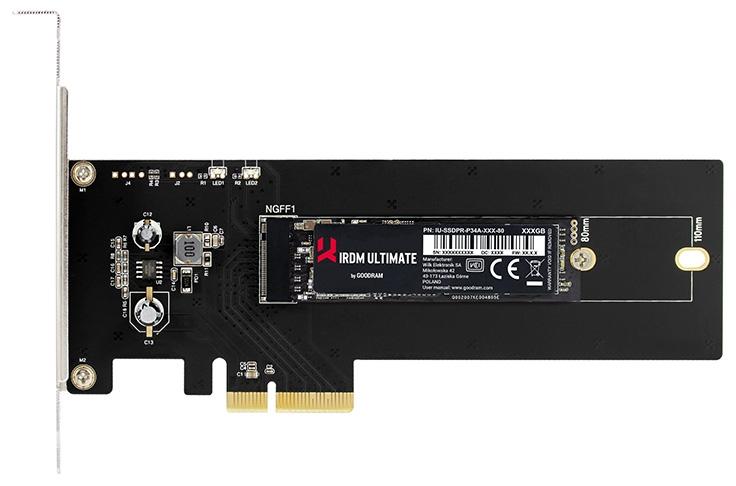 242 1 - Скоростные SSD GOODRAM IRDM Ultimate готовятся к дебюту