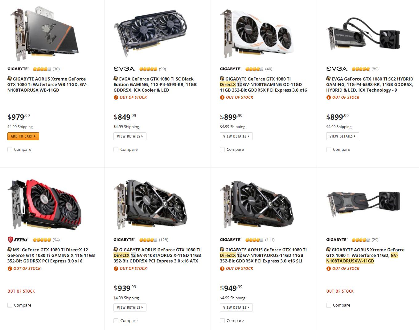 Nvidia предсказывает дальнейший рост цен навидеокарты