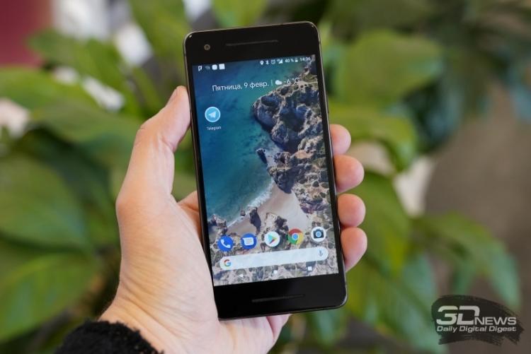 """Google рассмотрит проблему чрезмерного нагрева и быстрой потери заряда в Pixel 2"""""""