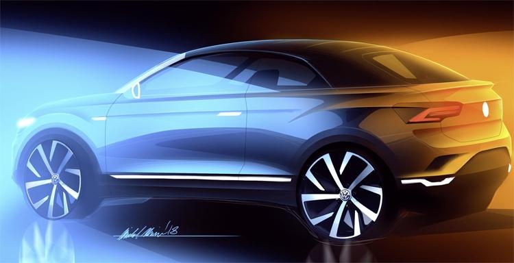 """Volkswagen планирует выпуск гибрида кроссовера и кабриолета"""""""