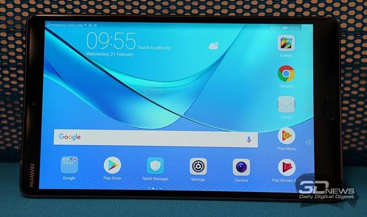 """MWC 2018: дебют планшетов Huawei MediaPad M5 с экраном 8,4"""" и 10,8"""""""""""