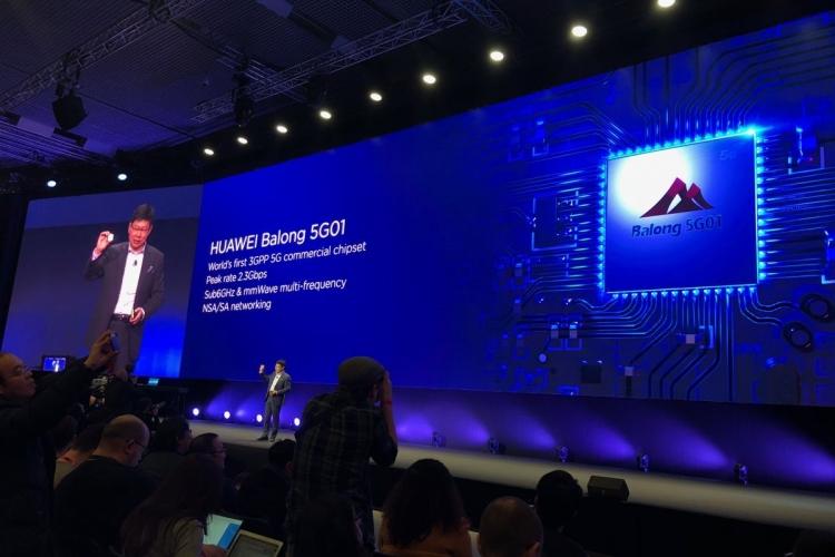 УHuawei готов 1-ый вмире коммерческий клиентский терминал для сетей 5G