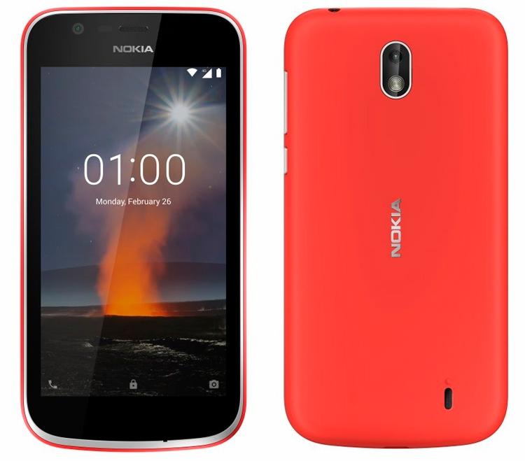 "MWC 2018: Nokia 1 — самый дешёвый смартфон бренда"""