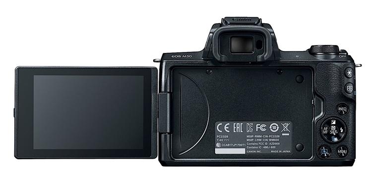"""Беззеркальная фотокамера Canon EOS M50 поддерживает 4К-видеозапись"""""""